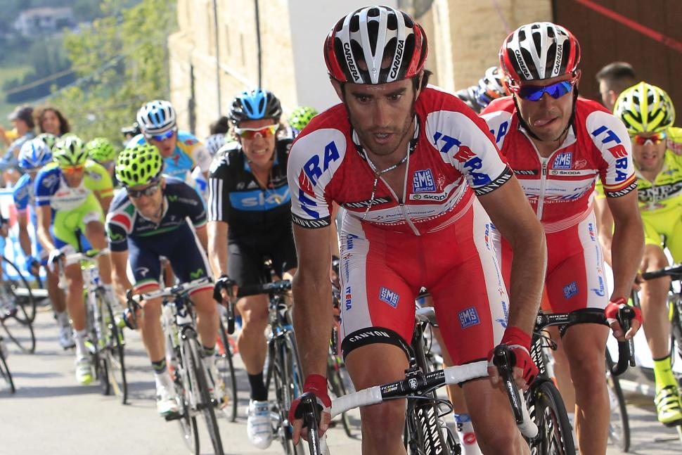 Giro 2012 S10 Moreno and Rodriguez (Pool Bettini - LaPresse - RCS Sport)
