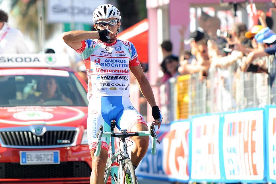 Giro 2012 S6 Rubiano wins (pic Fabio Ferrari - LaPresse - RCS Sport)