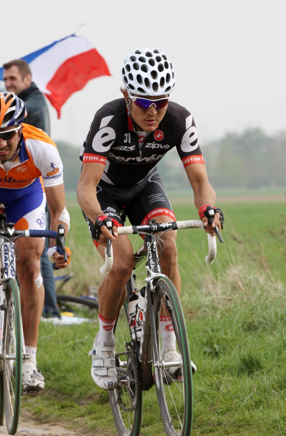 Heinrich Haussler Paris Roubaix ©Photosport International
