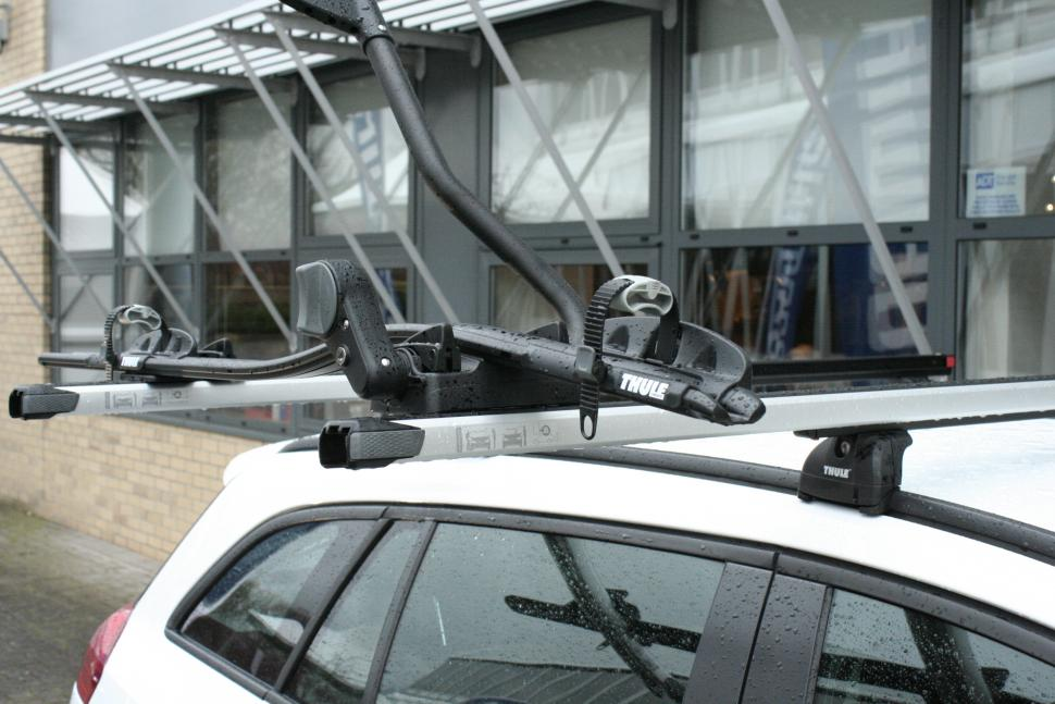 Icebike 2012 Thule Slidebars Make Roof Mounting Your