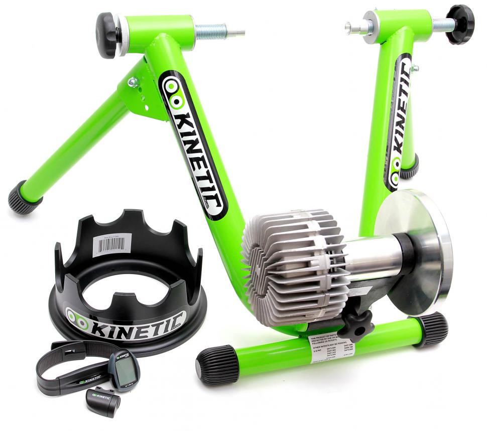 Kurt Kinetic Road Machine turbo trainer with accessories
