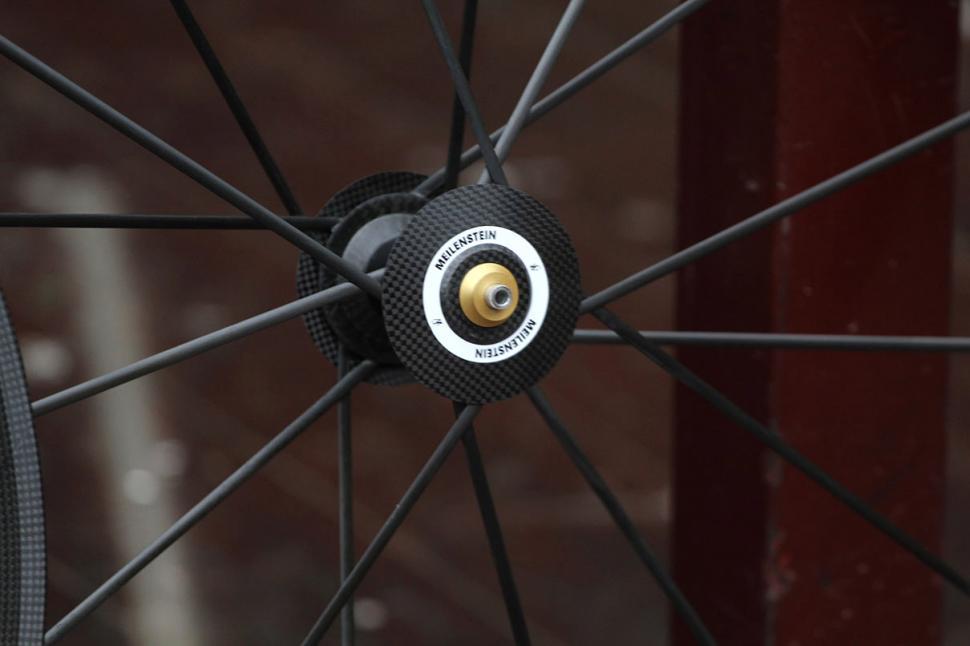 Lightweight Meilenstein wheelset Front Hub