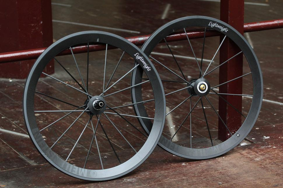 Lightweight Meilenstein wheelset