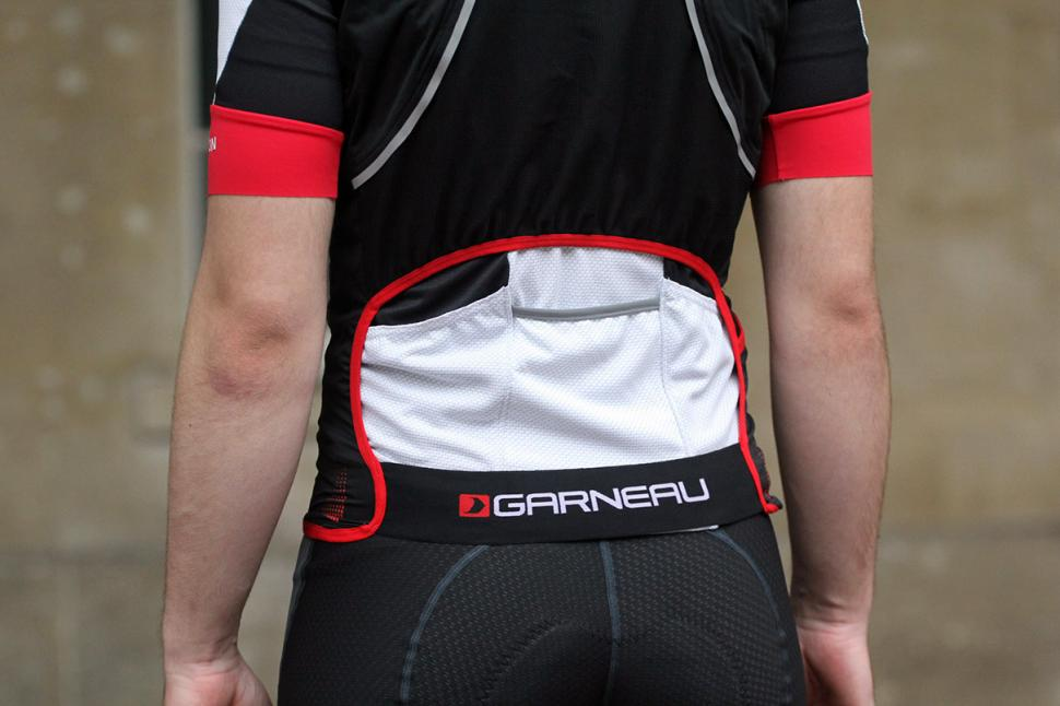 Louis Garneau Course Speedzone Gilet - back detail