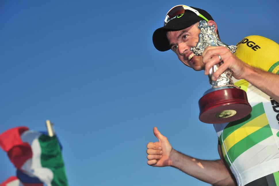Simon Gerrans, winner of Milan-San Remo 2012 (© Daniele Badolato, LaPresse via RCS Sport)