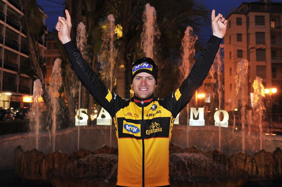Milan-San Remo 2013 winner Gerald Ciolek (Gian Mattia d'Alberto, LaPresse, RCS Sport)