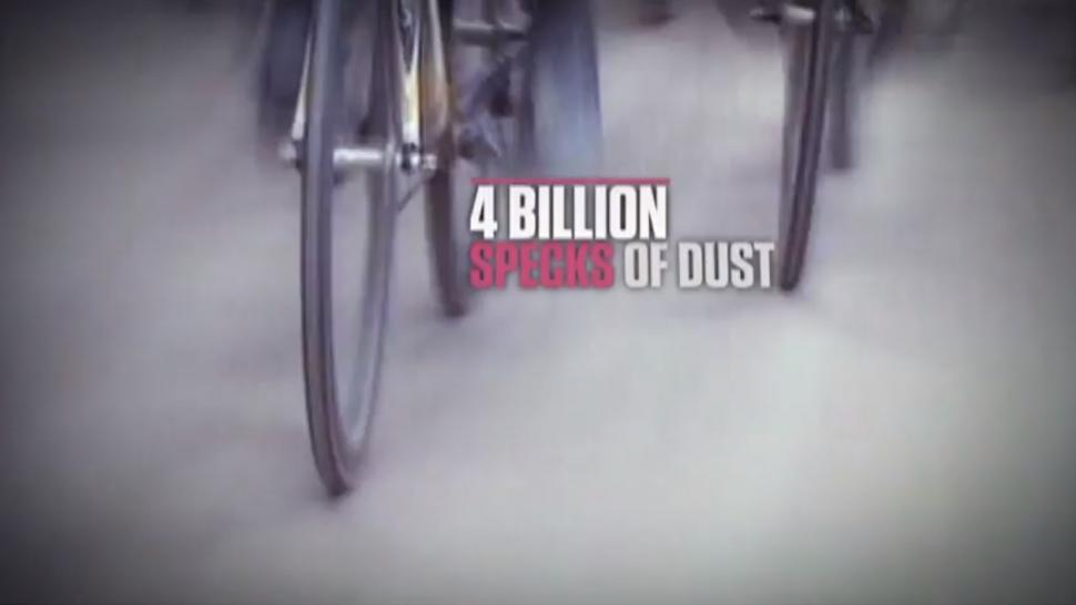 4 billion specks of dust