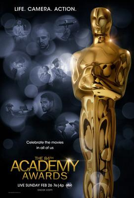 Academy Awards 2012 poster