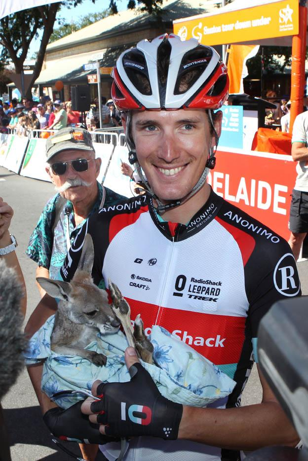 Andy Schleck at 2013 TDU (Santos Tour Down Under, Regallo)