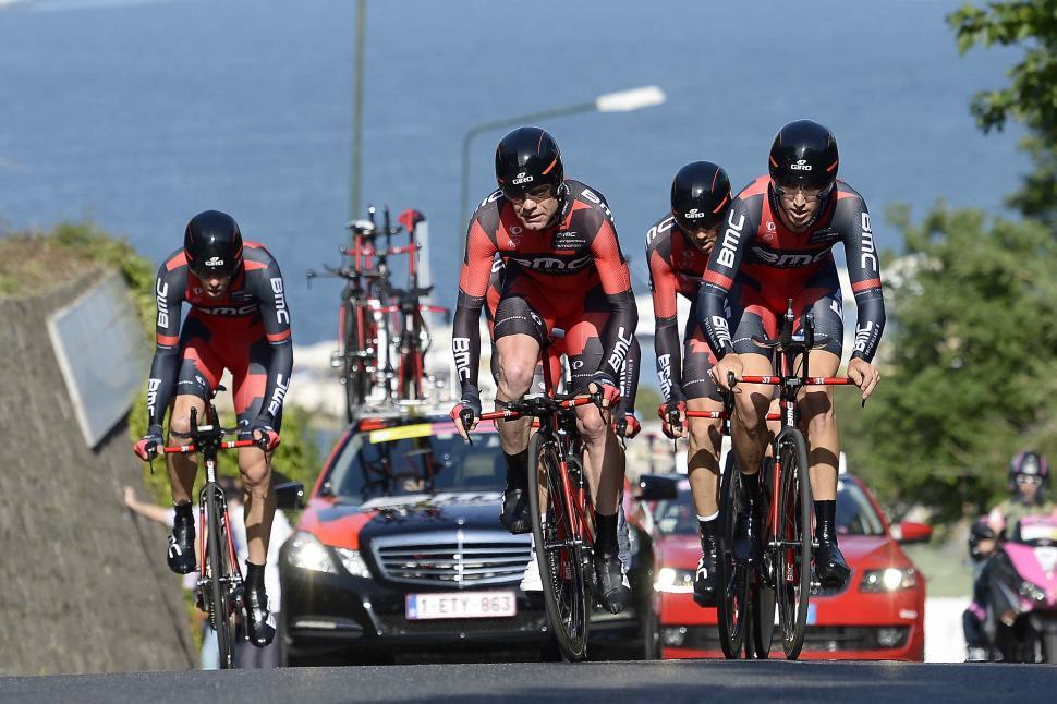 BMC Racing Giro 2013 TTT (photo Fabio Ferrari, LaPresse-RCS Sport)