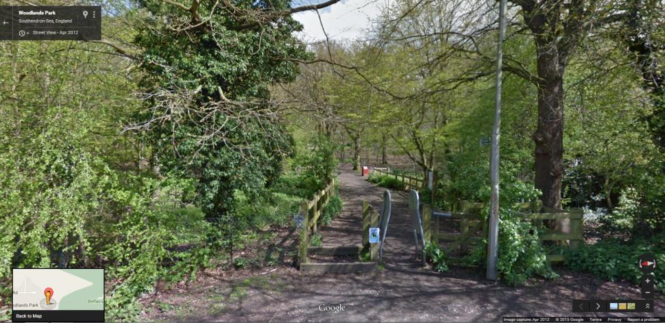 Belfair Woods Leigh Southend (Google Maps).png