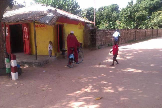 Boris Bike in the Gambia (source Ben Phillips on Twitter)