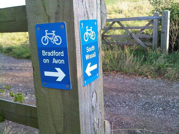 Bradford on Avon South Wraxall Cycle Path