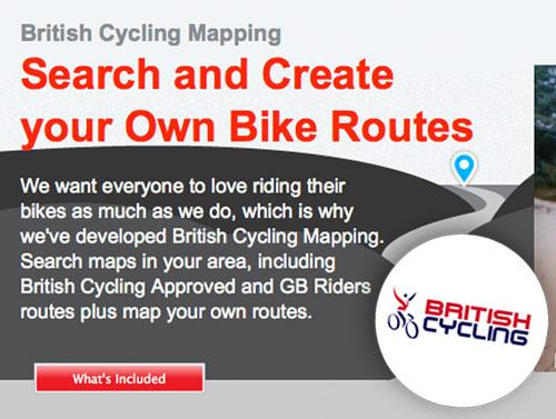British Cycling Mapping