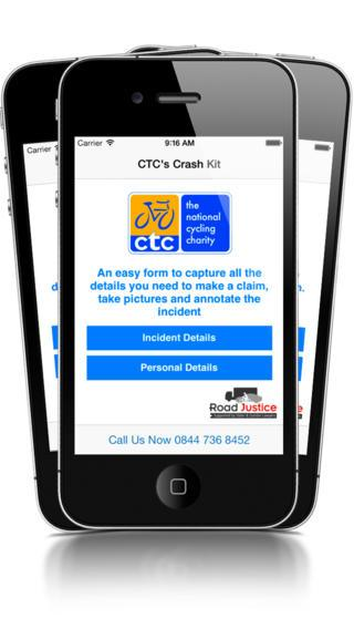 CTC Crash App home