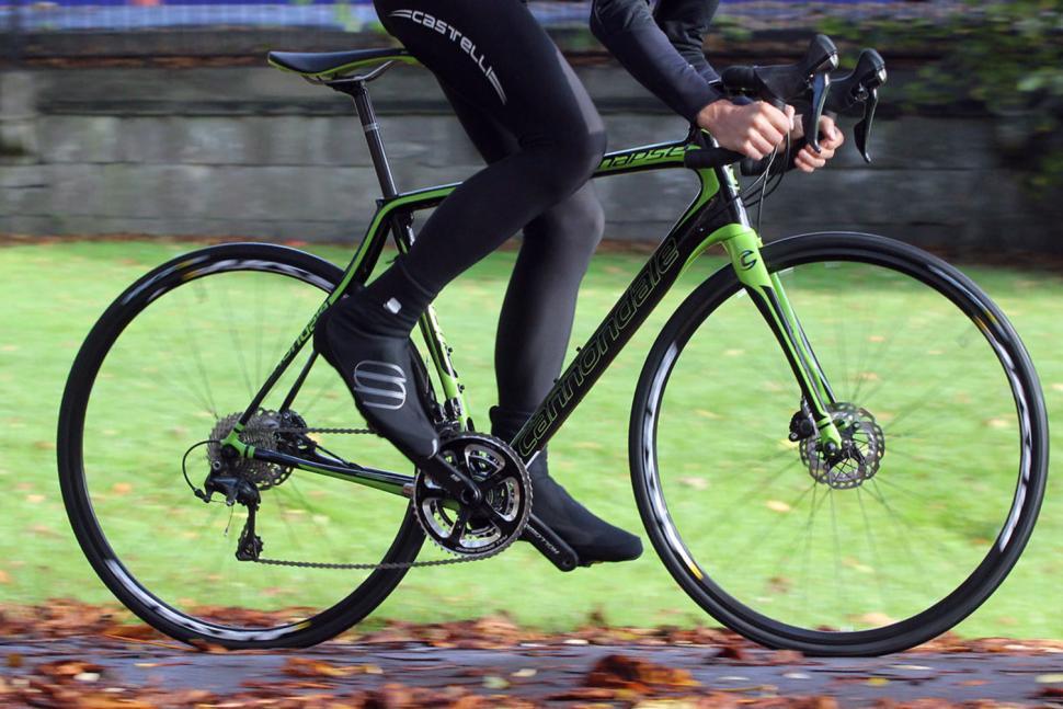 Cannondale Synapse Carbon Ultegra Disc - riding 3