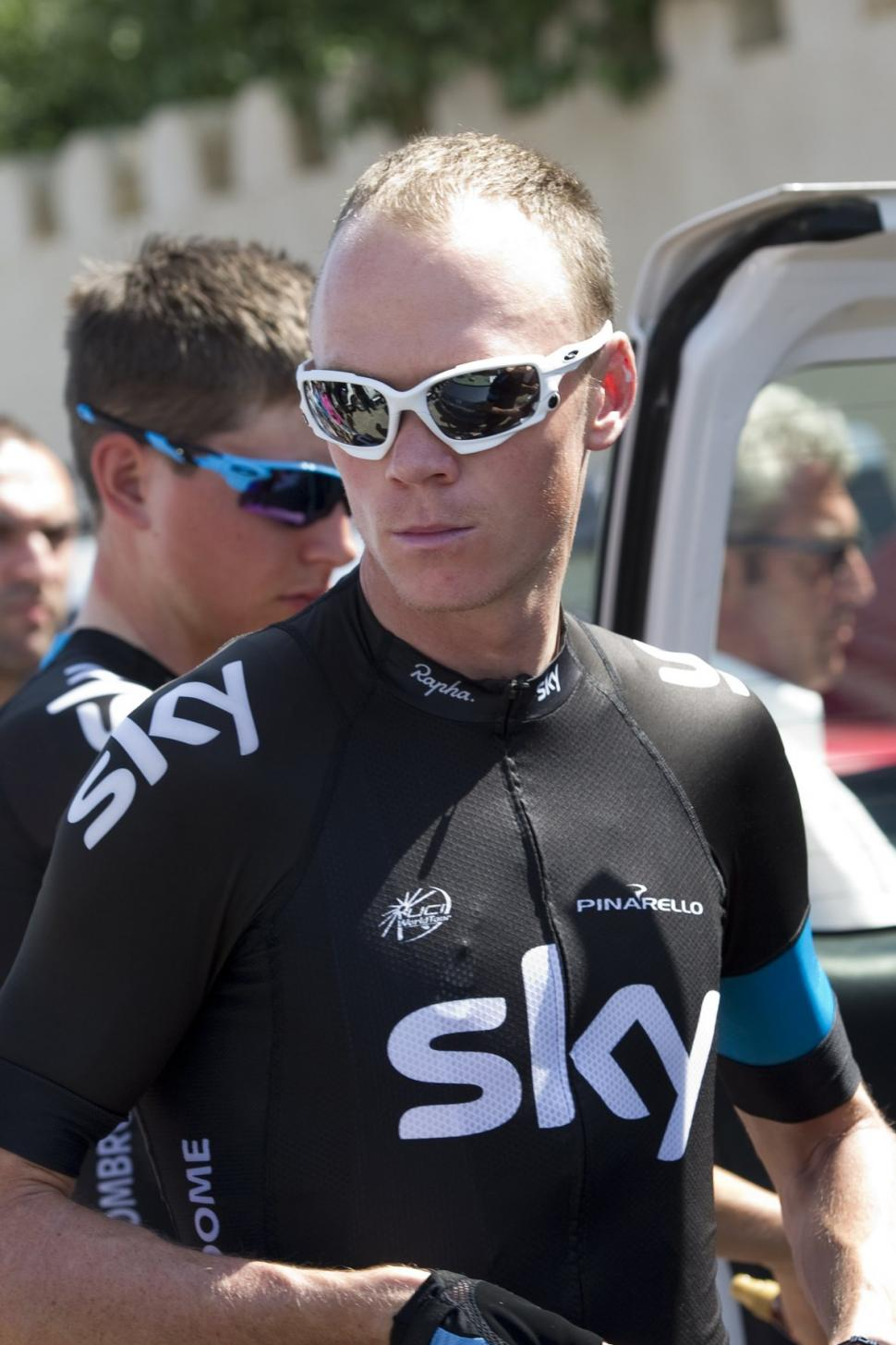 Chris Froome (pic Lloyd Images:Muscat Municipality)