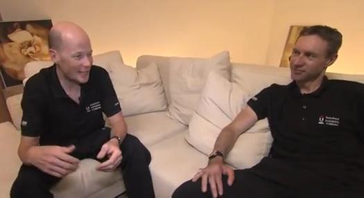 Chris Horner and Jens Voigt YouTube still