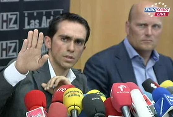 Contador and Riis