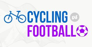Cycling vs football