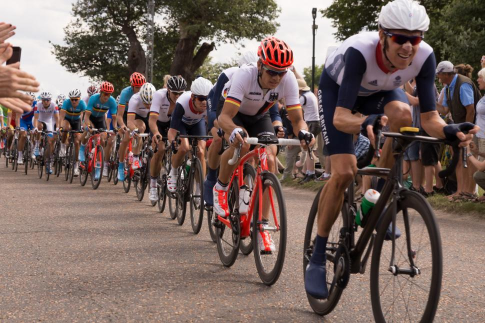 Cyclists probably breaking the speed limit in Richmond Park (CC licensed by adambowie:Flickr)