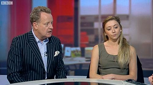 Emma Way on BBC breakfast