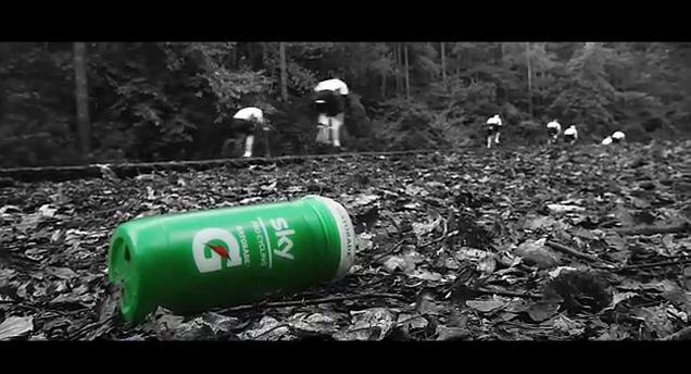 Gatorade Team Sky Green Bottle