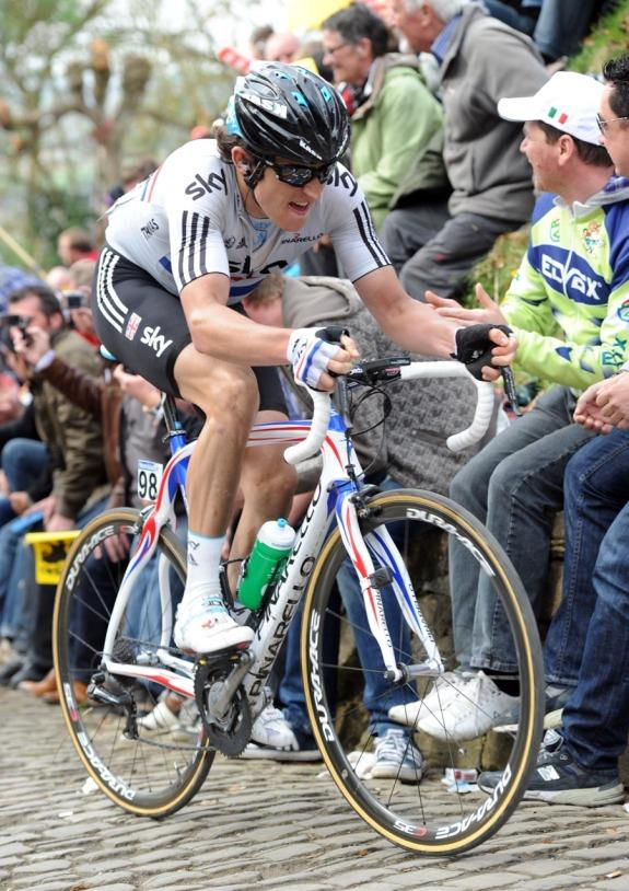 Geraint Thomas at Tour of Flanders.jpg