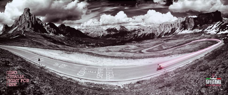 Giro d'Italia 2012 poster (original picture by Jered Gruber)