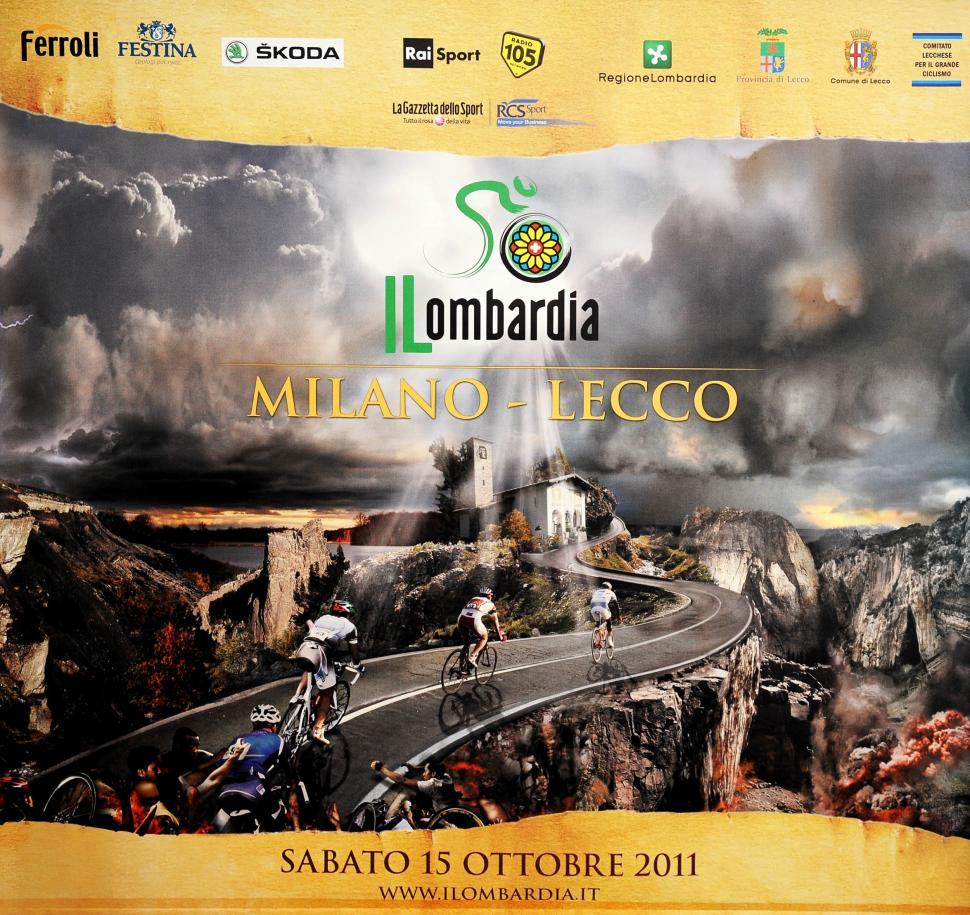 Giro di Lombardia 2011 poster