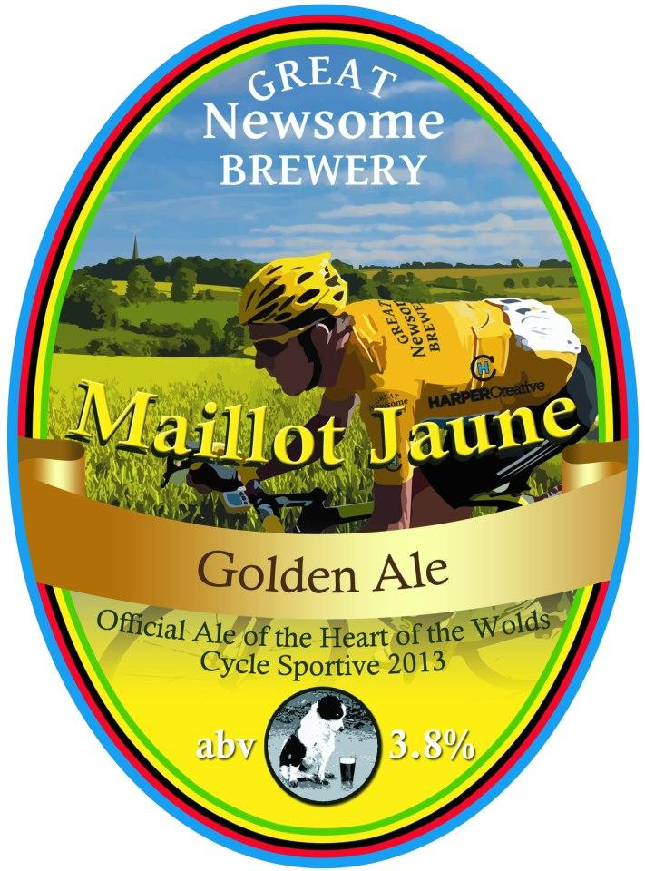 Great Newsome Brewery Maillot Jaune Golden Ale