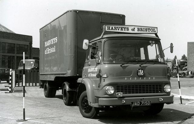 Harveys of Bristol lorry (courtesy Brizzle born and bred)