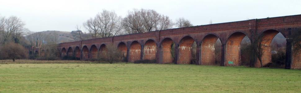 Hockley viaduct pictured in 2005