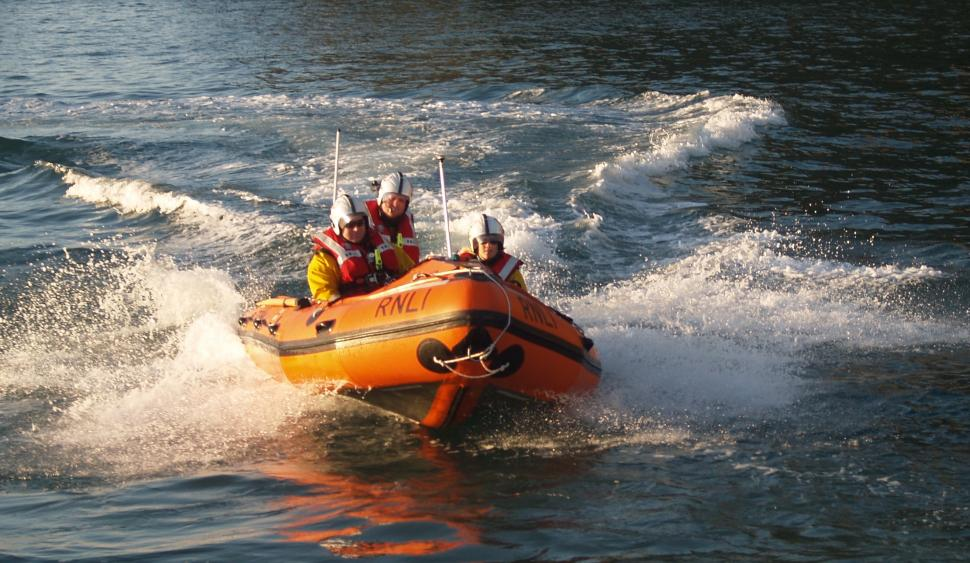 Holyhead Inshore Lifeboat (picture credit RNLI)