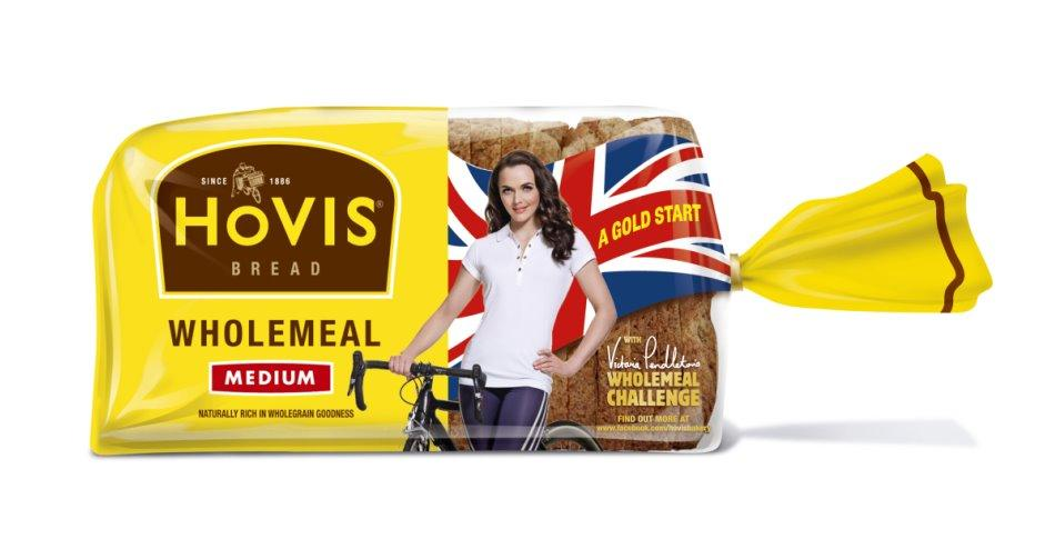 Hovis and Victoria Pendleton