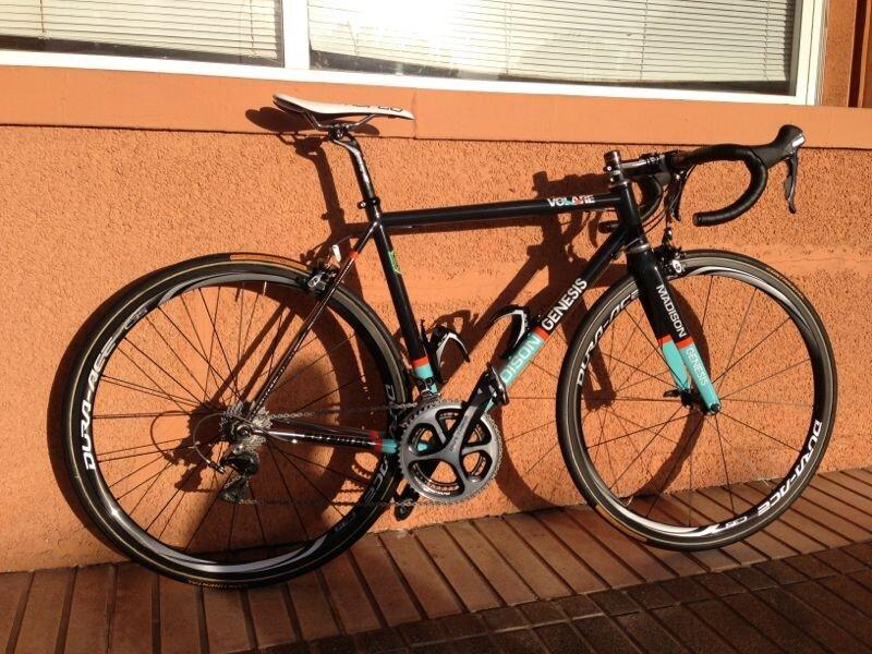 Ian Bibby's Madison Genesis bike
