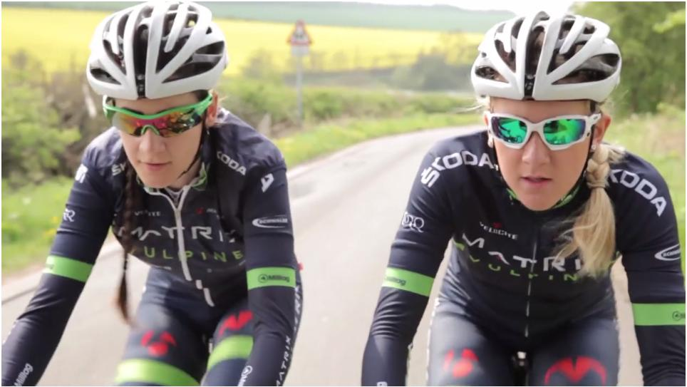 Jessie Walker (right) training with team-mate Penny Rowson.png