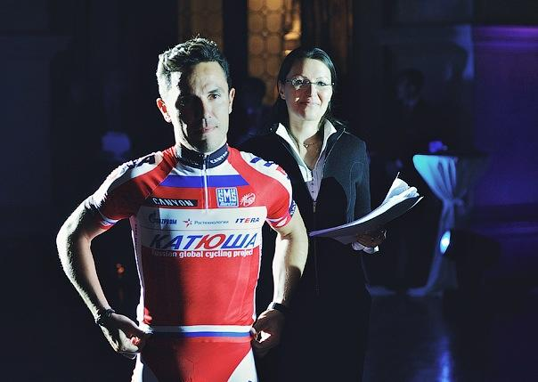 Joaquim Rodriguez at 2013 Katusha presentation (source Katusha Team)