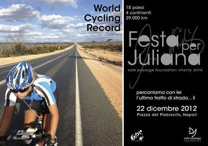 Juliana Buhring World Cycle