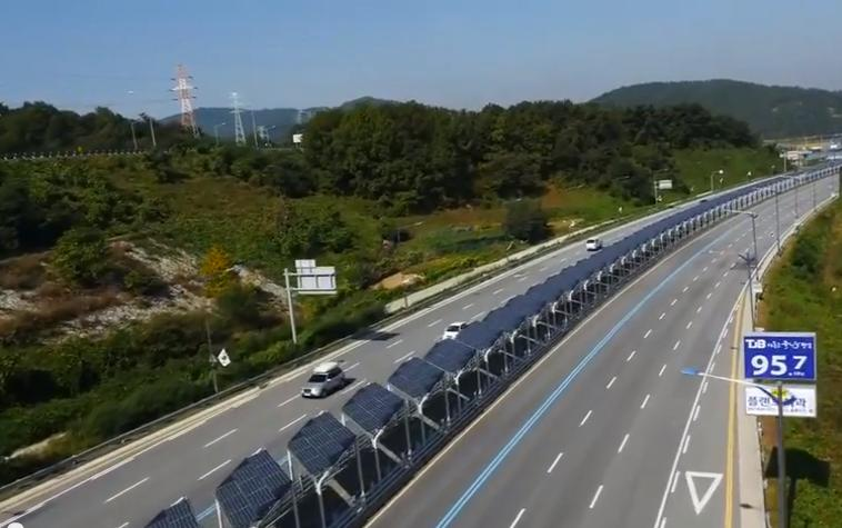 South Korean Solar Powered Bike Lane Whizzes Cyclists