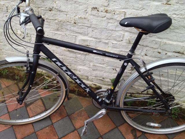 Krishnan Guru-Murthy's Ridgeback Speed bike (picture courtesy Krishnan Guru-Murthy)