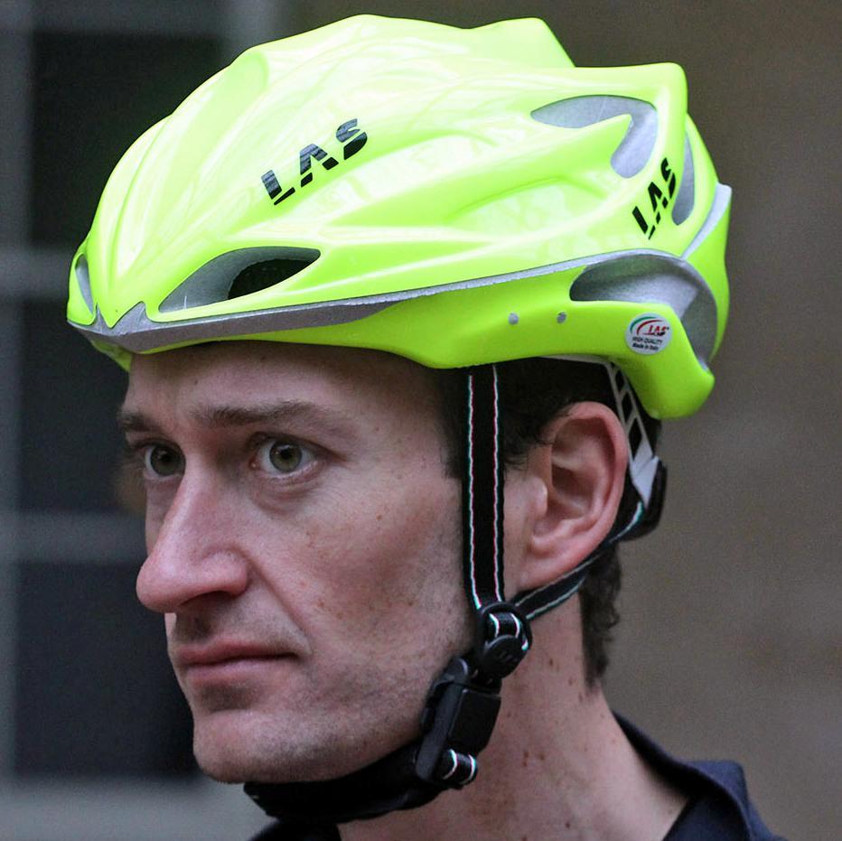 LAS Victory Vento helmet - worn