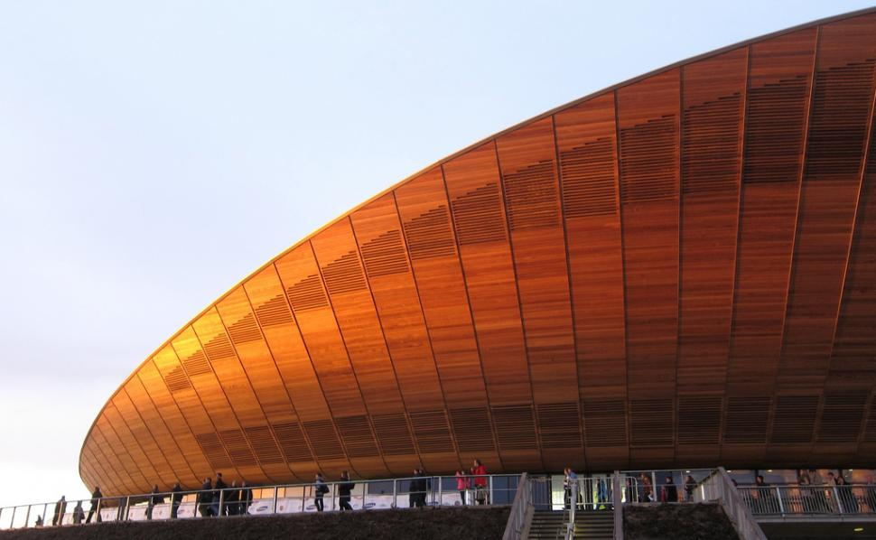 London Olympic velodrome (CC licensed image by nuttyxander:Flickr)
