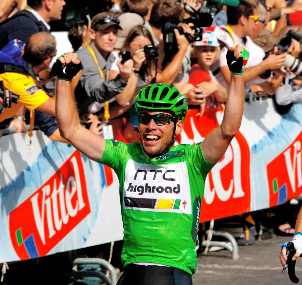 Mark Cavendish wins green on the Champs Elysees copyright PhotoSport International.jpg