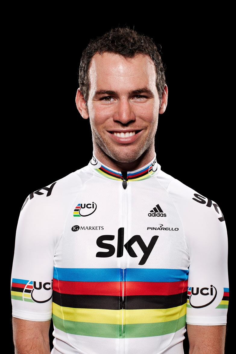 Mark Cavendish, Team Sky rainbow jersey