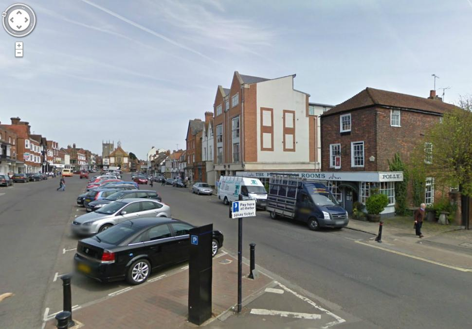 Marlborough High Street (Google Street View)