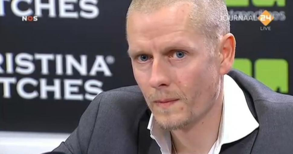 Michael Rasmussen at press conference 31 Jan 2013 (source NOS)