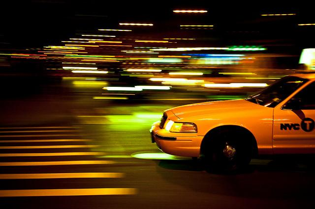 NYC Yellow Taxi (CC licensed by Zitzitoune)