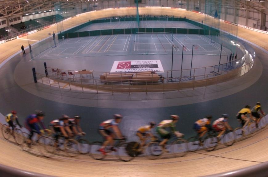 Newport Velodrome, pic credit Welsh Government