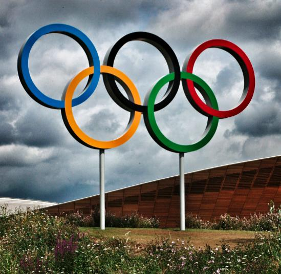 Olympic Rings and Velodrome